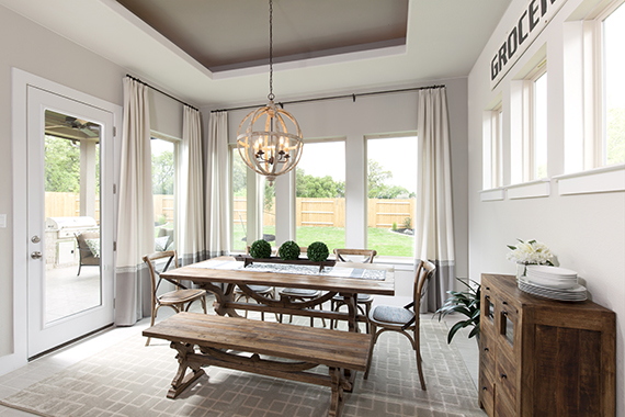 Dining Room- The Burkett (2711 Plan)
