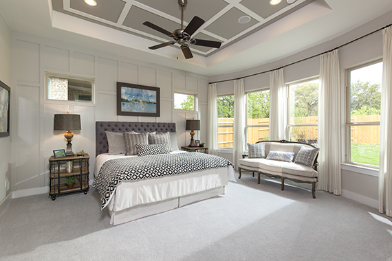 Master Bedroom- The Burkett (2711 Plan)