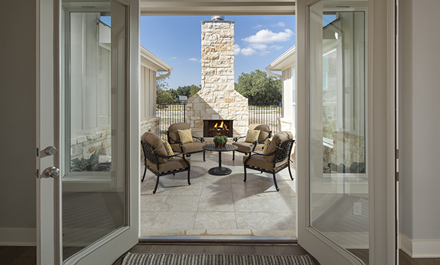 Front Courtyard - Design 2441