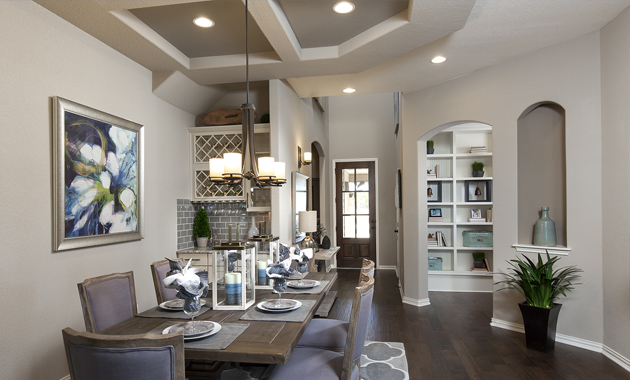 Dining Room - The Pecanhill (2320 Plan)
