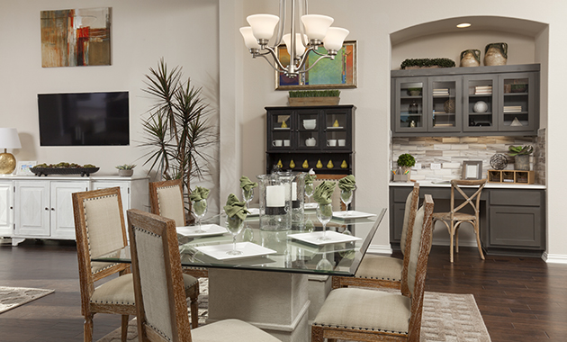 Dining Area - The Burkburnett II (Design 2480)