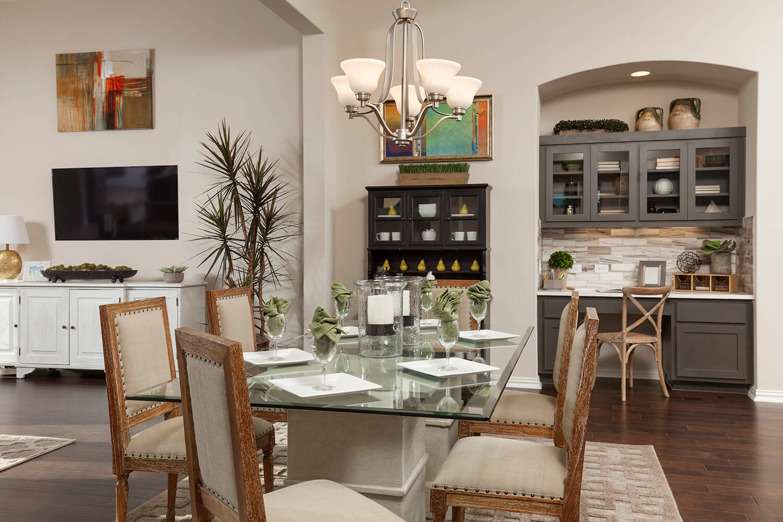 Dining Area - The Burkburnett II (Design 2480)