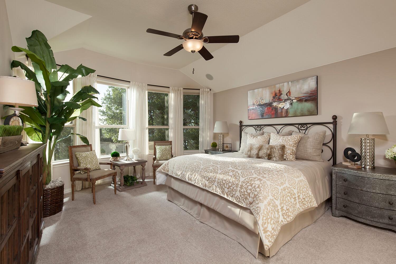 Master Bedroom - The Burkburnett II (Design 2480)