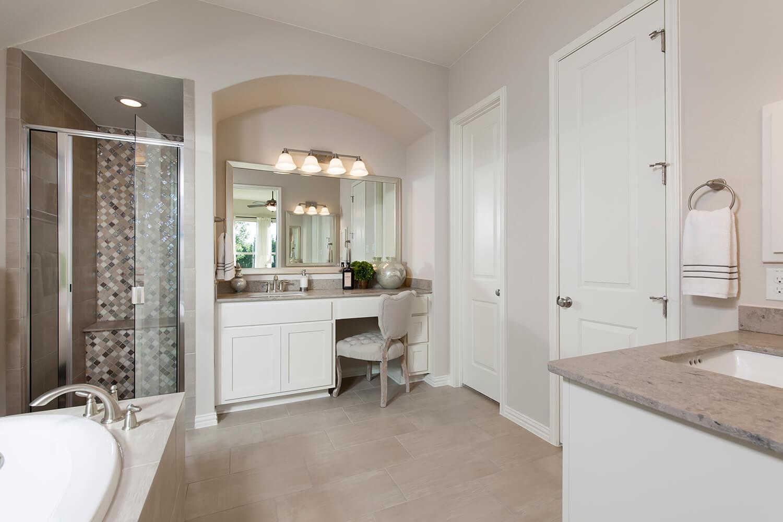 Master Bathroom - The Burkburnett II (Design 2480
