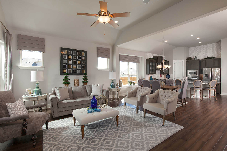 Family Room - The Burkburnett II (Design 2480)