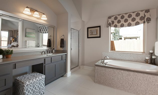 Master Bathroom - The Burkburnett II (Design 2480)