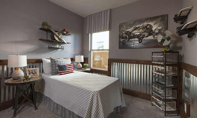 Secondary Bedroom - The Burkburnett II (Design 2480)