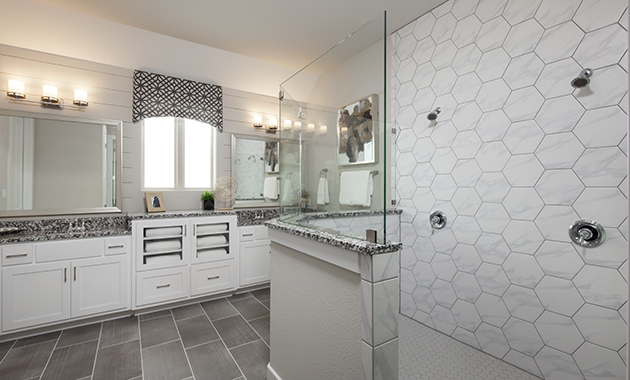 Master Bathroom - Design 2718