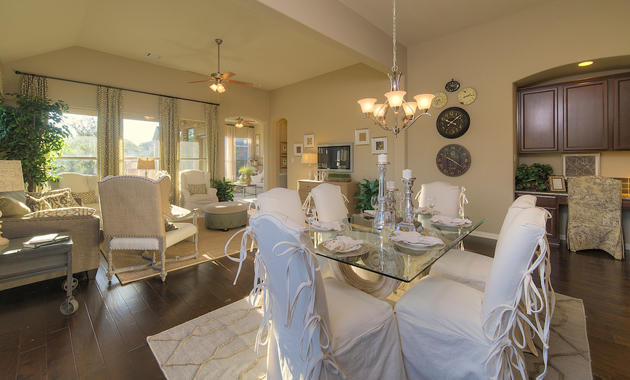 Dining Area - The Burkburnett II (2480 Plan)