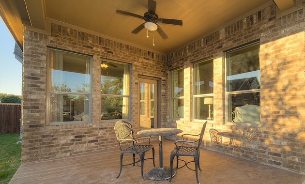 Patio - The Burkburnett II (2480 Plan)