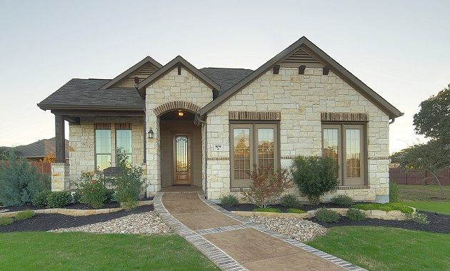 Elevation - The Burkburnett II (2480 Plan)