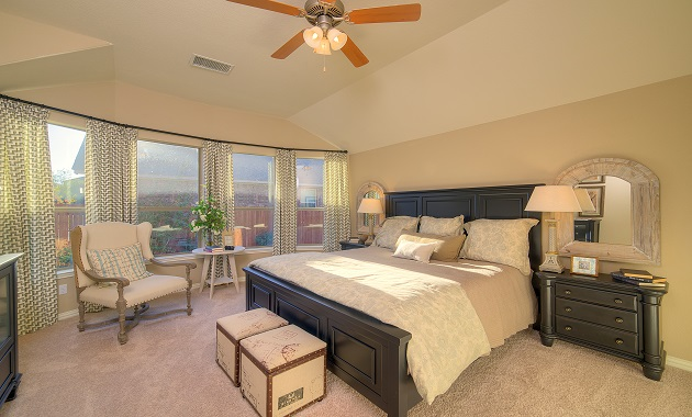 Master Bedroom - The Burkburnett II (2480 Plan)