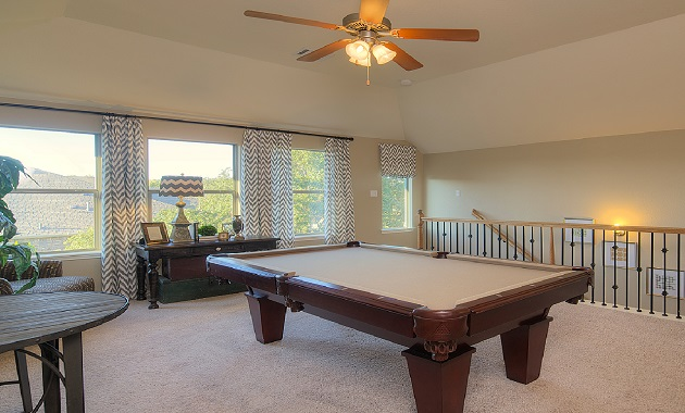 Game Room - The Burkburnett II (2480 Plan)