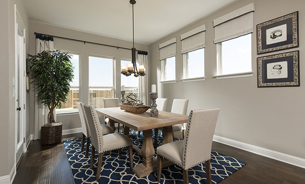 Dining Area - The Zavalla (Design 3253)