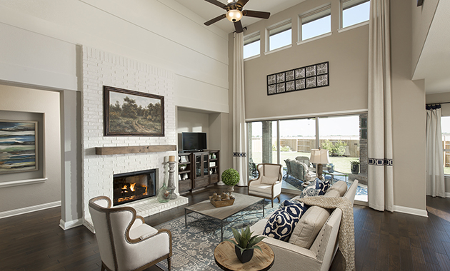 Family Room- The Zavalla (Design 3253)