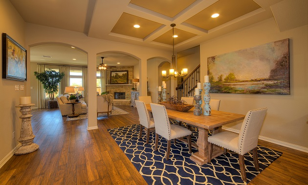 Dining Room/Living Room - The Pecanhill (2320 Plan)
