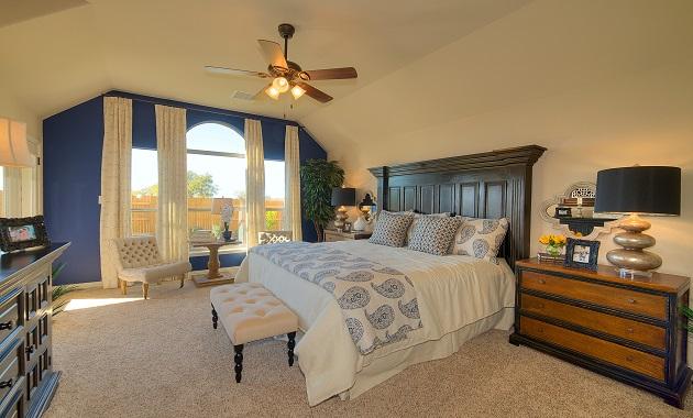 Master Bedroom - The Pecanhill (2320 Plan)