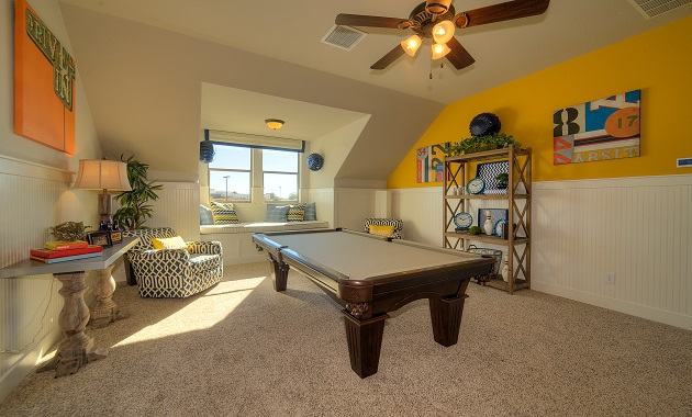 Game Room - The Pecanhill (2320 Plan)