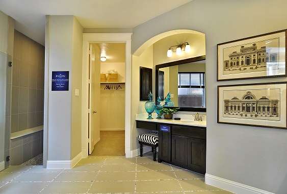 Master Bathroom - The Stratford (3192 Plan)