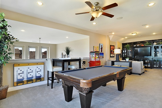 Game Room- The Stratford (3192 Plan)