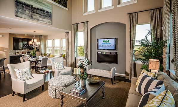 Viridian Open Family Room