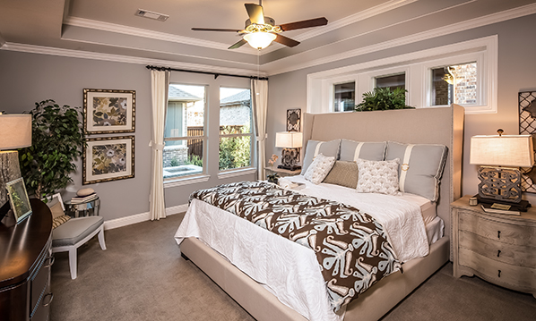 Master Bedroom - The Stratford (3192 Plan)