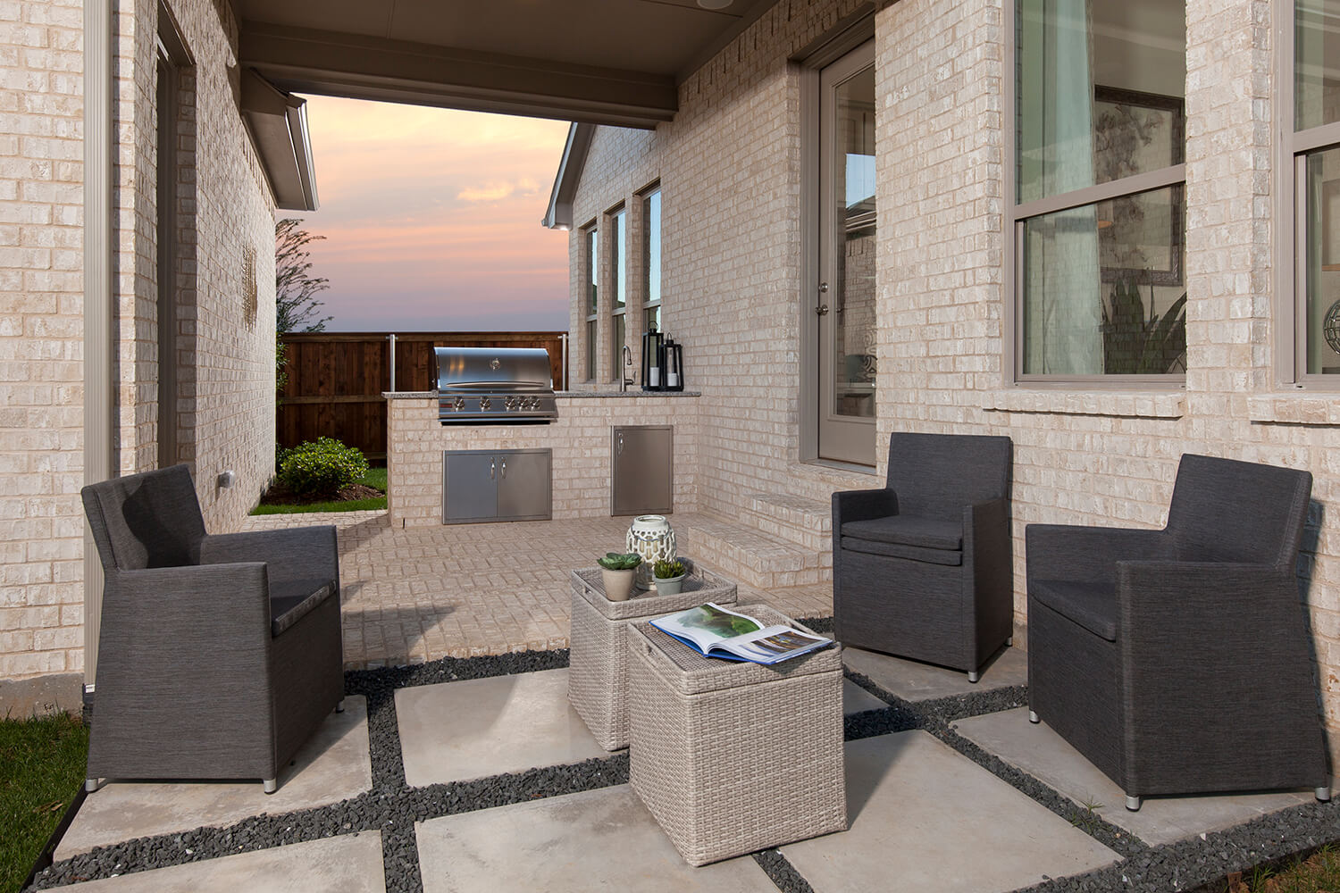 Outdoor Patio - The Cottonwood (Plan 2739)