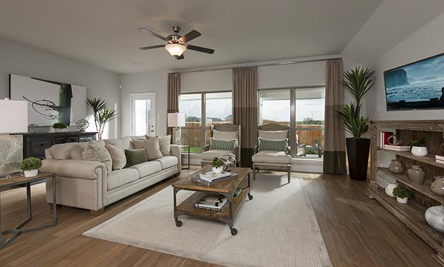 Family Room- The Christoval (Plan 2092)