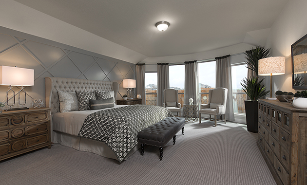 Mater Bedroom- The Christoval (Plan 2092)
