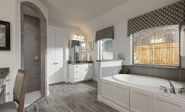 Master Bathroom- The Christoval (Plan 2092)