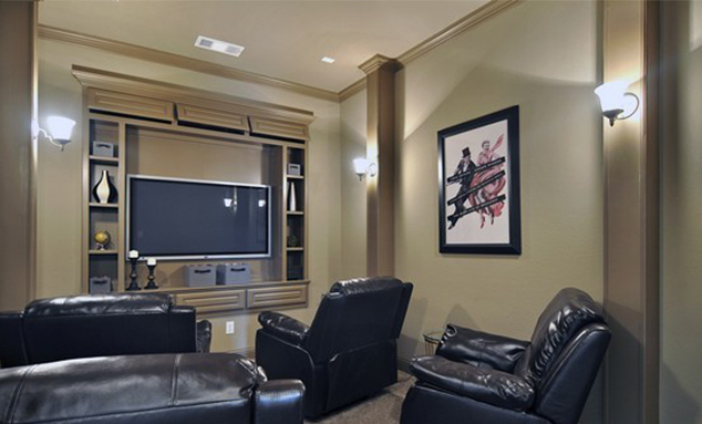 Media Room - The Kilgore (2153 Plan)