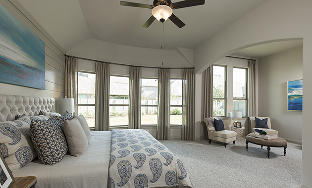 Master Bedroom- The Toledo Bend (2541 Plan)