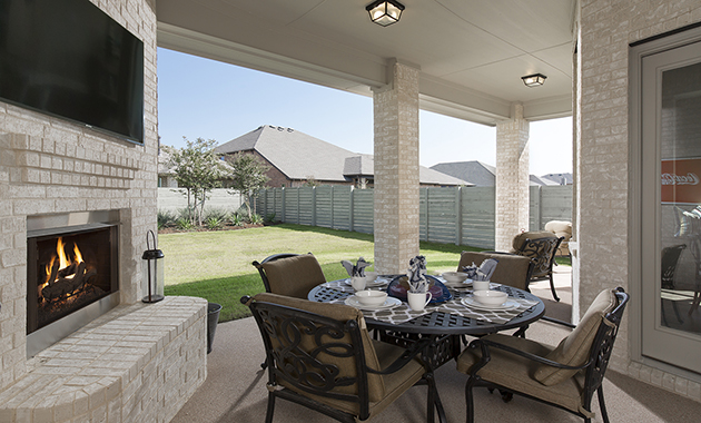 Patio- The Toledo Bend (2541 Plan)