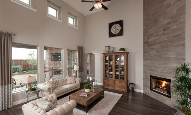 Living Room - The Caddo (Design 3630)