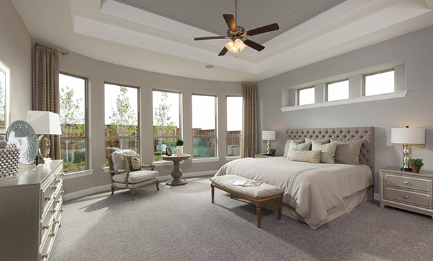 Master Bedroom - The Caddo (Design 3630)