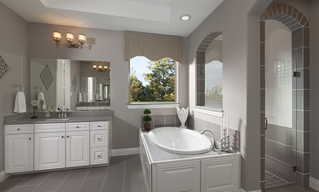 Master Bathroom - The Caddo (Design 3630)