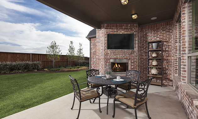 Patio - The Caddo (Design 3630)