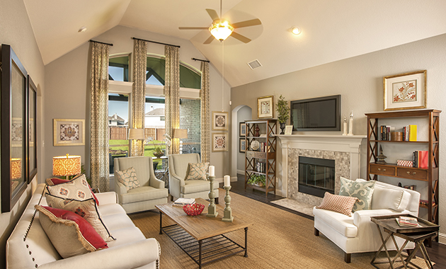 Family Room - The Nederland II (2760 Plan)