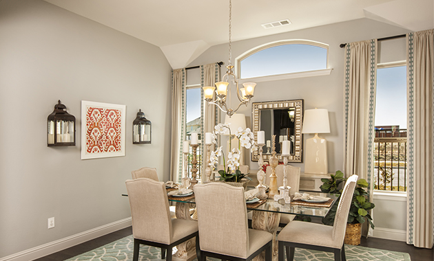Dining Room - The Nederland II (2760 Plan)