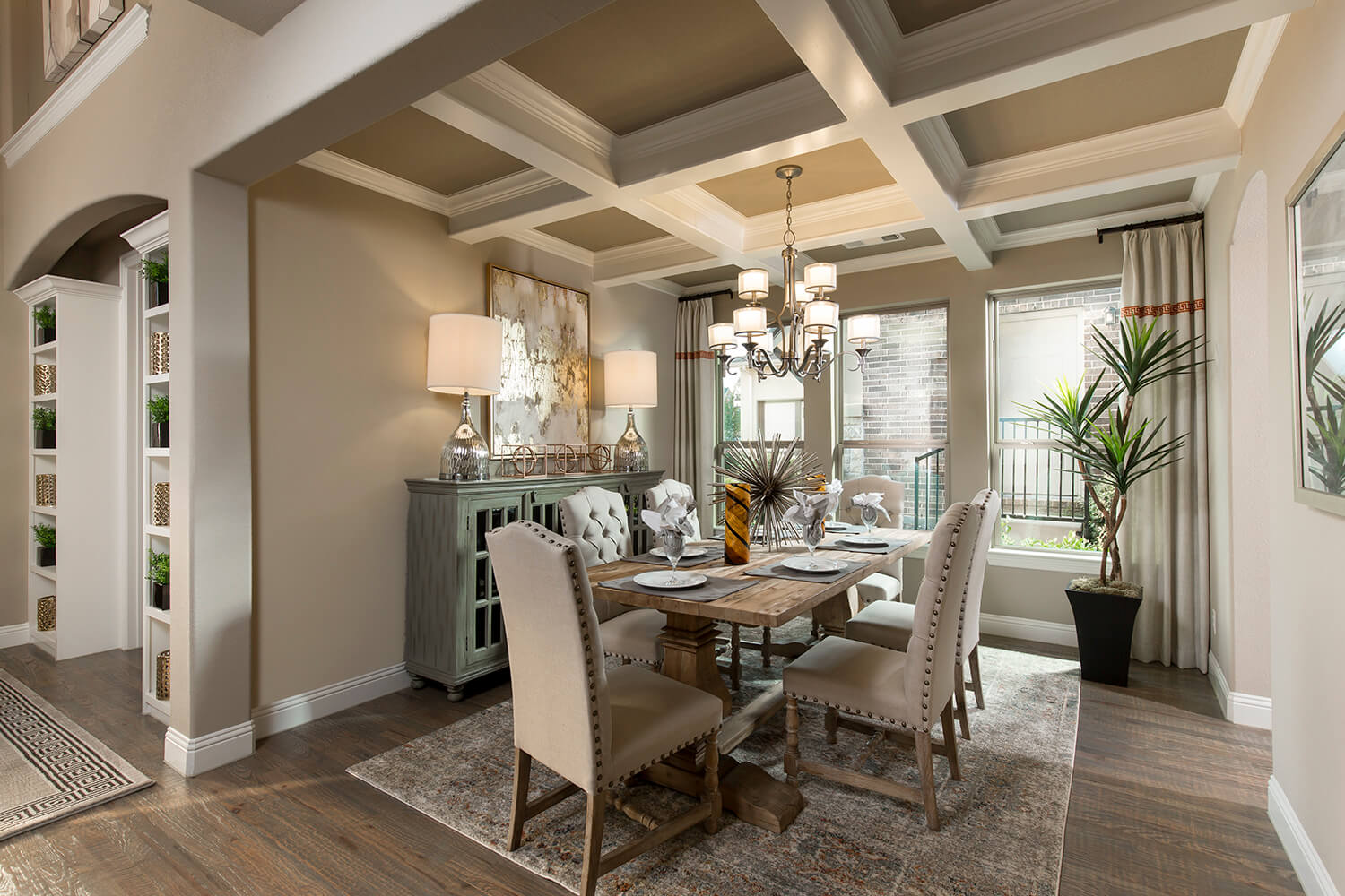 Dining Room - The Navarro Mills (3218 Plan)