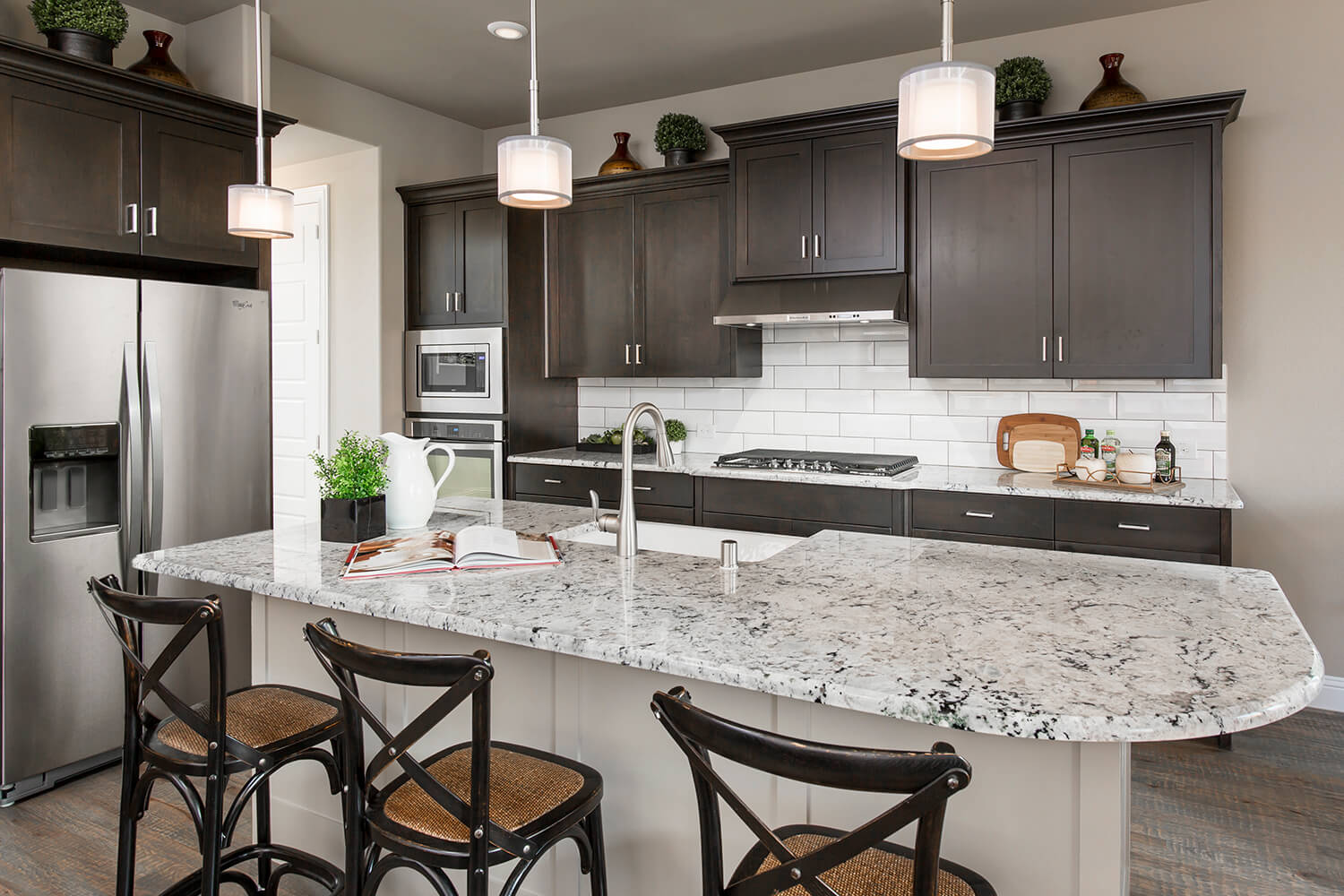 Kitchen - The Navarro Mills (3218 Plan)