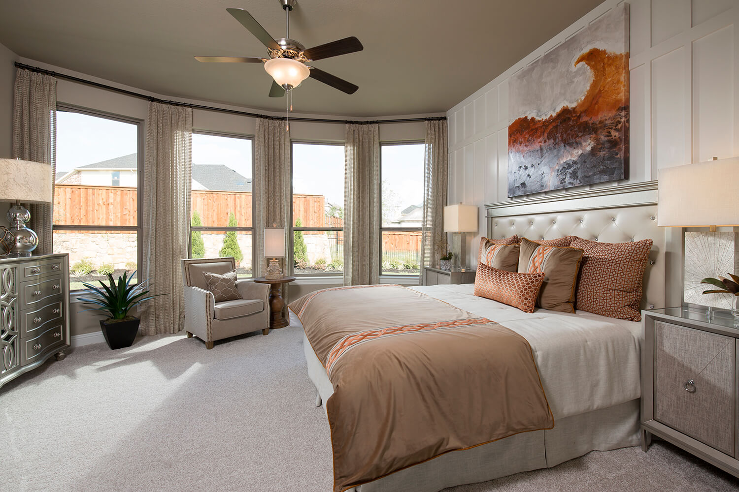 Master Bedroom - The Navarro Mills (3218 Plan)