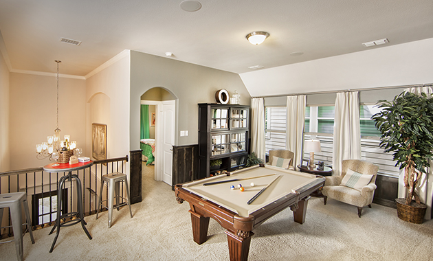 Game Room - The Navarro Mills (3218 Plan)
