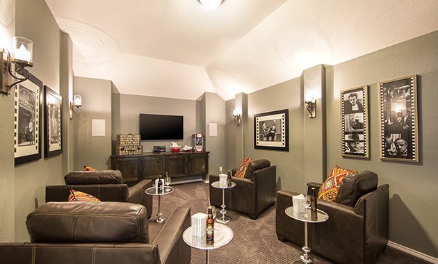 Media Room - The Navarro Mills (3218 Plan)