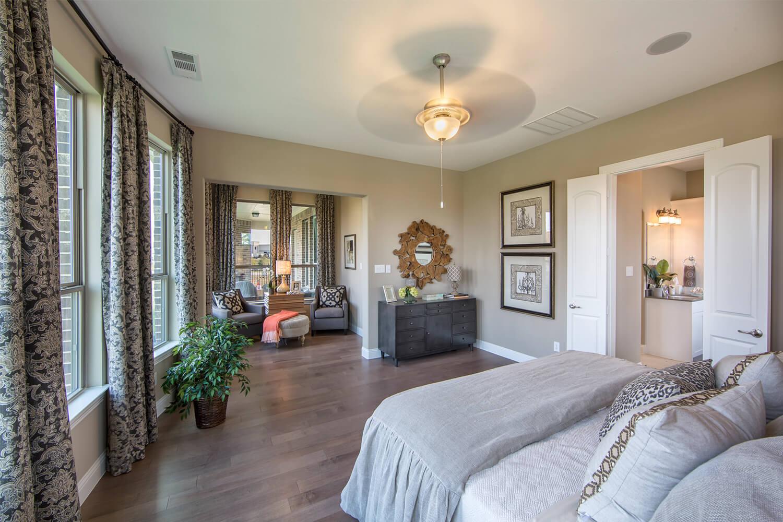 Master Bedroom - The Campbellton (3747 Plan)