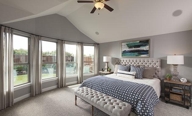 Master Bedroom - The Burkburnett (Design 2091)