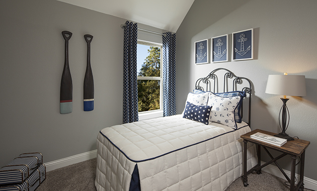 Secondary Bedroom - The Burkburnett (Design 2091)