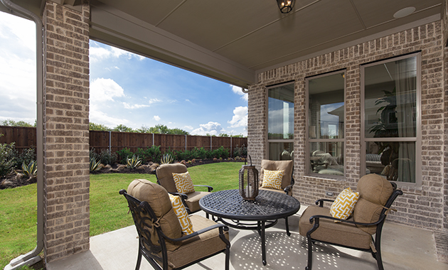 Patio - The Burkburnett (Design 2091)