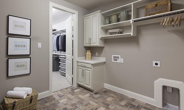 Laundry Room - The Caddo (Design 3630)