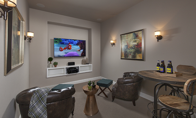 Media Room - The Kilgore II (Design 2759)